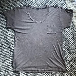 Urban Outfitters scoop neck t-shirt